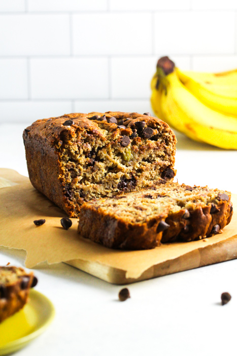 10 Ingredient Vegan Banana Bread