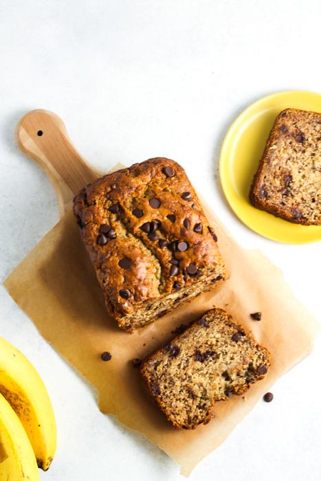 10 Ingredient Vegan Banana Bread