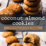 Vegan Coconut Almond Cookies