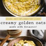 Creamy Golden Oatmeal