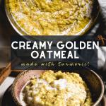 Creamy Golden Oats