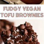 Fudgy Vegan Tofu Brownies