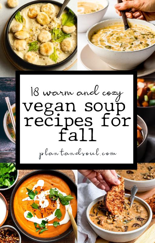 18 vegan soup recipes for fall