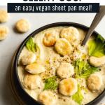 Creamy Vegan Roasted Cauliflower and Celery Soup