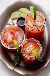 Spicy Tomato Margaritas